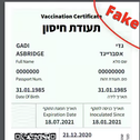 Anyone can fake Israel's vaccination certificate, cybersecurity firm Check Point reveals; Health Ministry says issue will be addressed