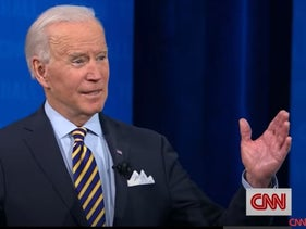 Joe Biden Condemns White Supremacists at CNN Town Hall