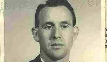 Friedrich Karl Berger, in a photograph dated 1959 and released by the U.S. Department of Justice.