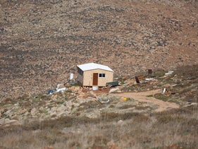 The Maoz Esther outpost in the West Bank