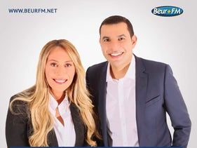Rose Ameziane and Malik Yettou, hosts of Beur FM's 'L'Actu Autrement'