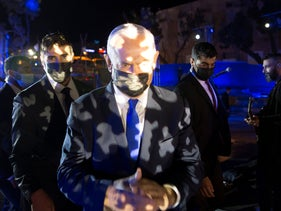 Netanyahu at a ceremony in Eilat