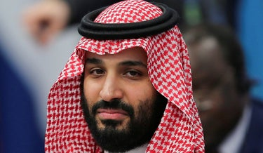 Saudi Arabia's Crown Prince Mohammed bin Salman attends the opening of the G20 leaders summit in Buenos Aires, 2018