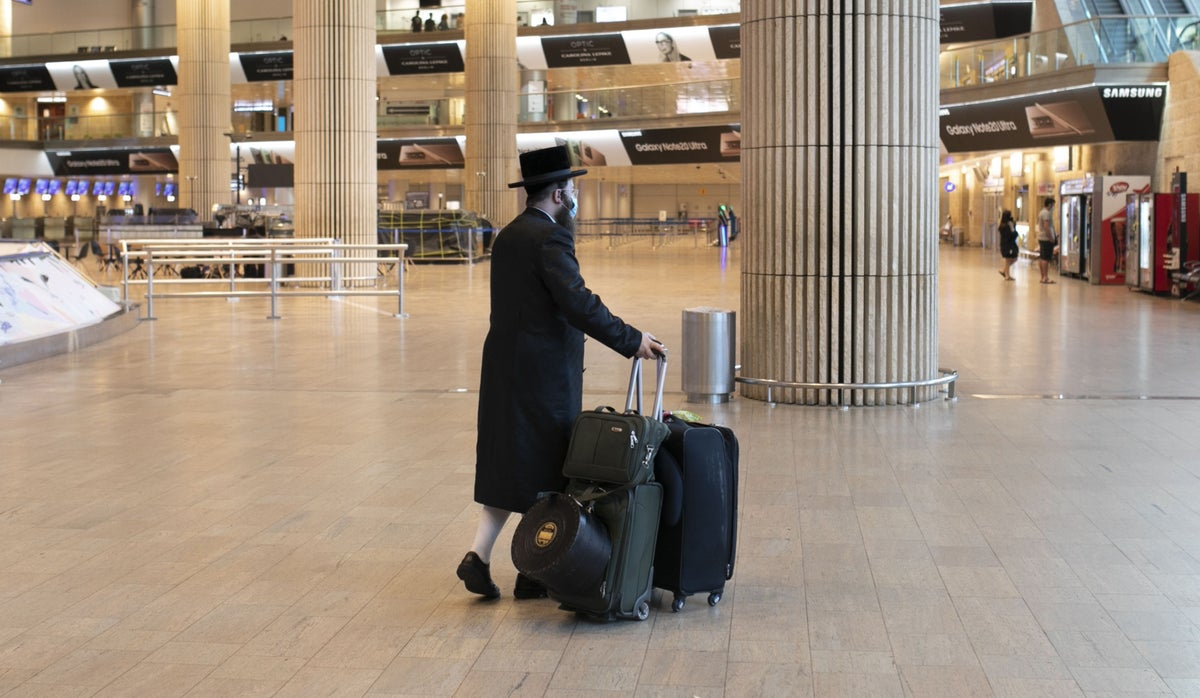 A year of discriminatory COVID policy now made it to Israel's international airport