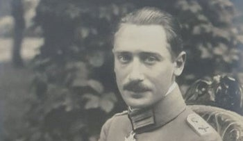 German World War I flying ace Wilhelm Frankl.