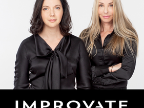 From left to right: Irina Nevzlin, Founder and Chairman of IMPROVATE and Ronit Hasin Hochman, CEO of IMPROVATE