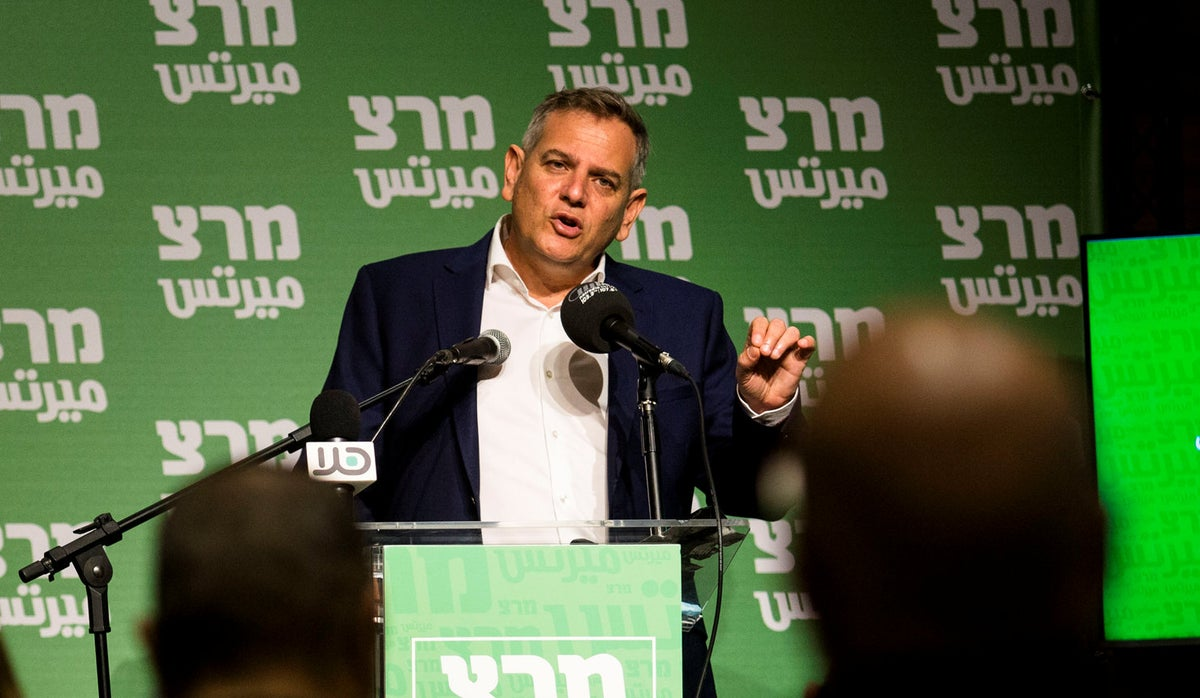 Left-wing Meretz fails to enter Knesset in latest Israel election poll