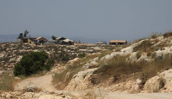The West Bank outpost of Sde Ephraim in 2019.