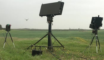 IAI successfully testing the 'Drone Guard' defense system, last year