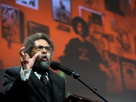 Philosopher Cornel West, two years ago.