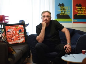 Gil Goren, 59-year-old artist from Haifa.