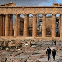 The Acropolis of Athens in Greece, Monday.