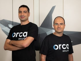 Orca Security Managing Founders Avi Shua (right) Gil Geron (left), in 2019.