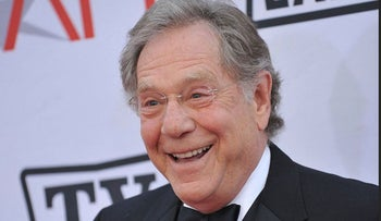 This photo taken June 10, 2010 shows actor George Segal at AFI Life Achievement award to Mike Nichols held at the Sony Studios in Los Angeles