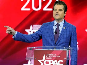 U.S. Rep. Matt Gaetz, R-Fla.,, speaks at the Conservative Political Action Conference (CPAC)