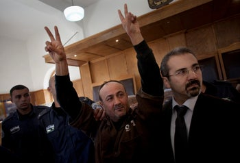 Barghouti in court in 2012