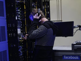 A Facebook data center in the state of Oregon. Facebook is set to join the growing list of giant tech companies operating chip development centers in Israel.