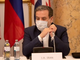 Iran's top nuclear negotiator, Abbas Araqchi, attends a meeting of the JCPOA Joint Commission in Vienna, Austria, last year.