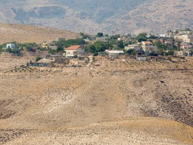 The settlement of Elon Moreh in the northern West Bank.