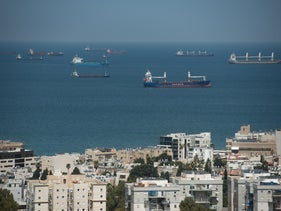 The port of Haifa, today