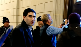 Elliot Resnick, the editor-in-chief of the Jewish Press, was among the Capitol rioters.