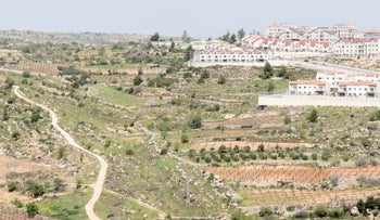 The West Bank settlement of Efrat, last month.