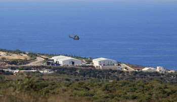 The UN peacekeeping base, where U.S.-mediated talks were held over a disputed maritime border between Israel and Lebanon, in the southern Lebanon, last year.