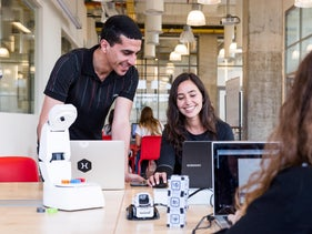 Students at IDC's milab study how humans interact with robotic devices