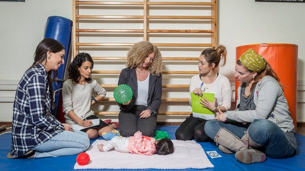 Occupational Therapy students in a class