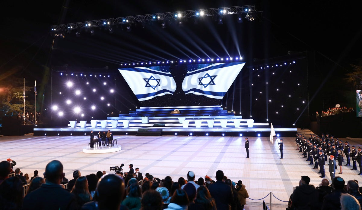 Israel marks 73rd Independence Day with ceremony honoring healthcare workers who battled COVID