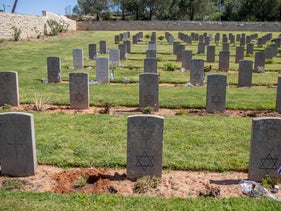 The British War Cemetery on Mount Scopus, today.