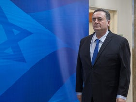 Finance Minister Yisrael Katz, who compared himself to the ancient ruler King Herod.