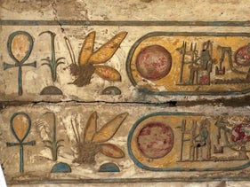 Bees in ancient Egypt: Cartouche of Ramses II at  Karnak