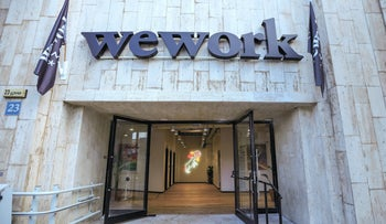 A WeWork office in south Tel Aviv, in 2017.