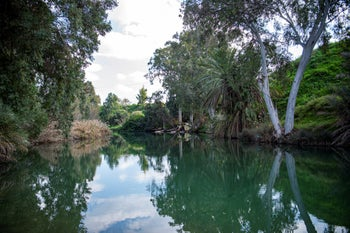 The southern Jordan river in February.
