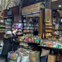 People shop for herbs and spices at a market in the old city of  Damascus, Syria February 28, 2021. Picture taken February 28, 2021.