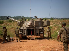 Israeli soldiers along the Lebanese border, last week.