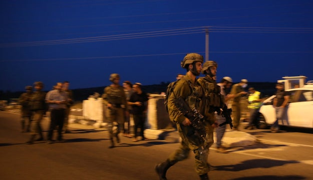 Tonight, soldiers are searching for the perpetrators in the West Bank.