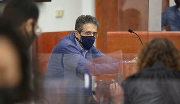 Former Walla CEO Ilan Yeshua at Jerusalem District Court last month.
