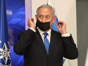 Netanyahu in Jerusalem, last month.