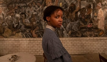 """Thuso Mbedu as Cora in """"The Underground Railroad."""""""