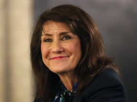 Democratic Rep. Marie Newman. She beat the conservative incumbent in Illinois' 3rd Congressional District last year and has become an outspoken critic of Israel's government.