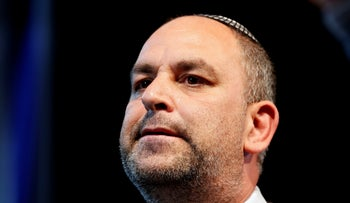 Yair Revivo the mayor of the mixed Jewish-Arab city of Lod, in Lod, last month.