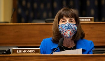 Rep. Kathy Manning in March