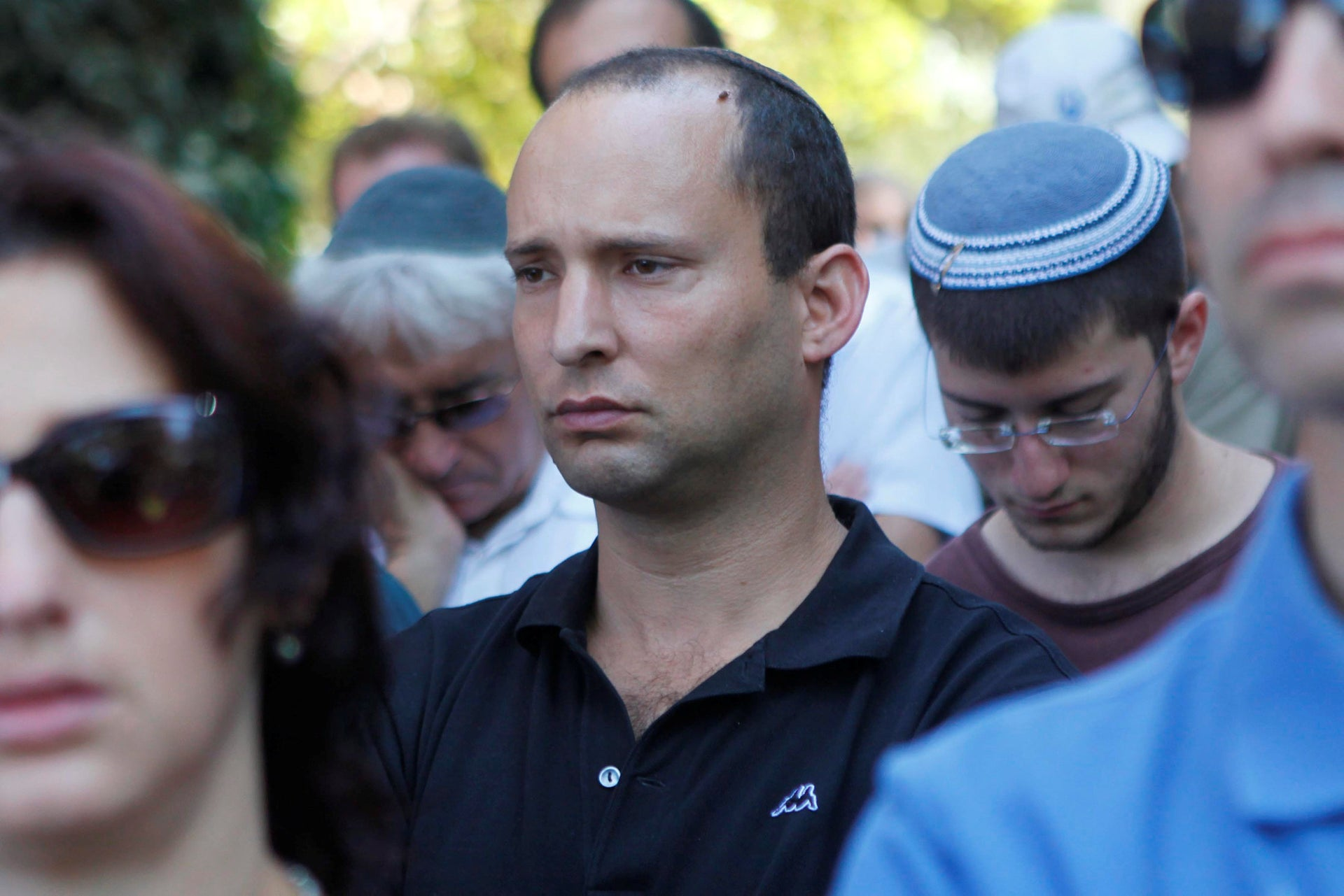 Naftali Bennett in 2011, when he was director general of the Yesha Council of settlements.