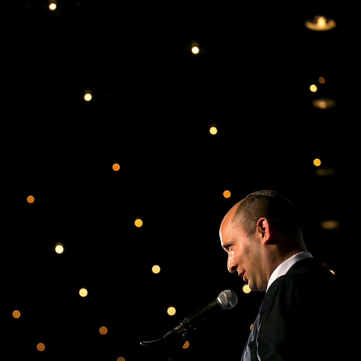 Naftali Bennett in 2013, his first year as a lawmaker.