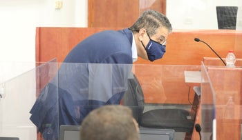 Ilan Yeshua in Jerusalem District Court on Tuesday.