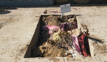 Grave of intel officer who died in military prison, June 2, 2021
