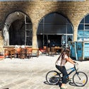 A restaurant in Acre which was set ablaze during the recent Jewish-Arab flare-up in mixed cities in Israel, last month.