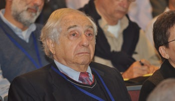 Uzia Galil, considered a founding father of the Startup Nation, died last week in his home in Haifa. He was 96